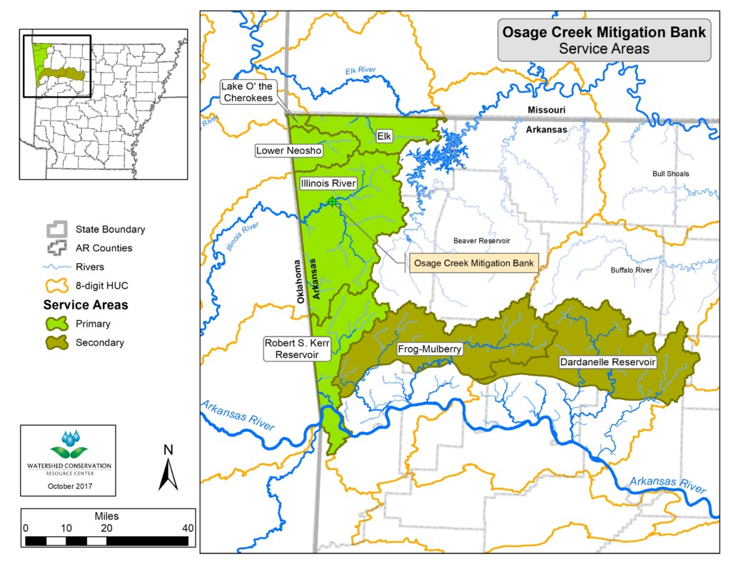 Picture of: Osage Creek Stream Mitigation Bank Watershed Conservation Resource Center